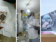 بالصور.. جزائريون يصوتون للحليب ولمشاهير ولحمار!