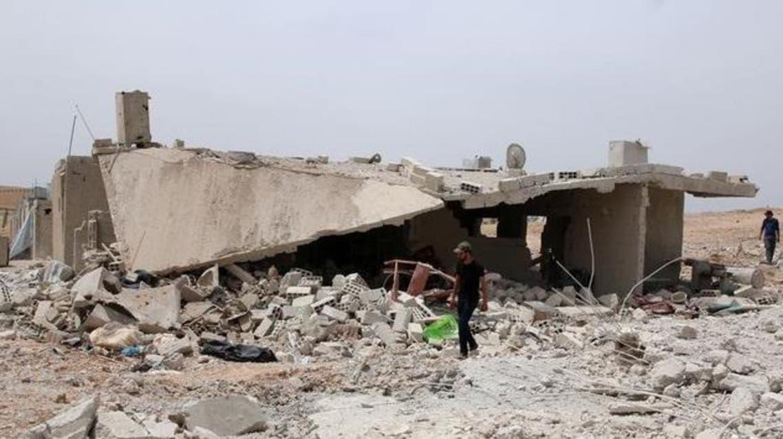 قصف على جنود درعا يعود إلى مطلع مايو