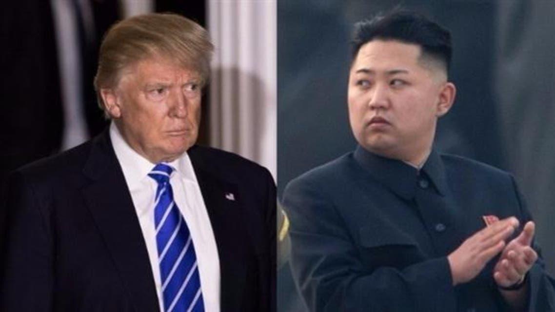 زعيم كوريا الشماليىة وترمب