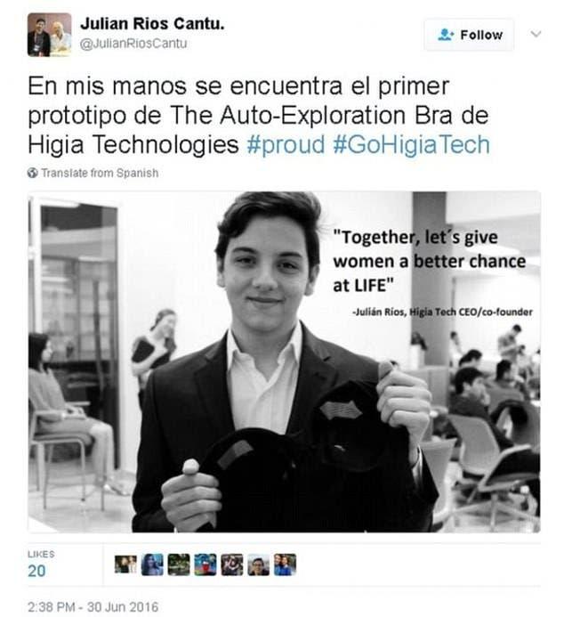 المخترع الصغير جوليان ريوس كانتو