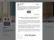 هولاند: قرصنة موقع ماكرون الإلكتروني لن تمر بدون رد
