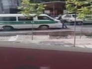 بالفيديو.. سيارة شرطة إيرانية تدهس فتاة بسبب حجابها