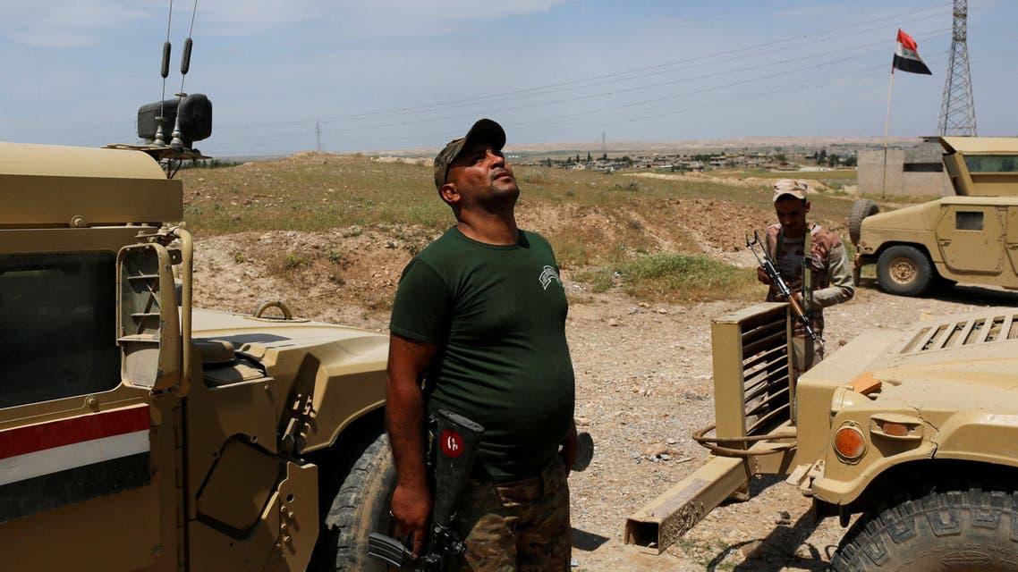 القوات العراقية في الشمال الغربي لمدينة الموصل 5-5-2017