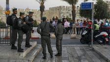 بیت المقدس : باب العامود کے نزدیک اسرائیلی فورسز کا فلسطینیوں پر دھاوا