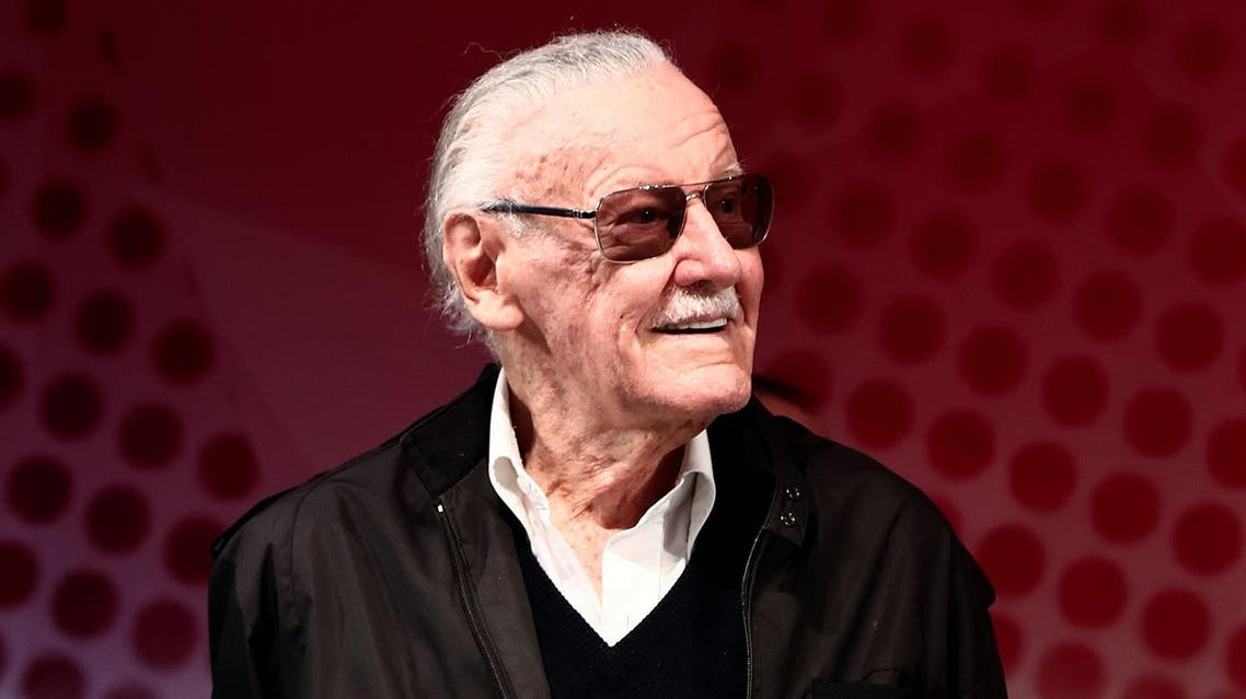 US comic-book writer Stan Lee attends a talk show during the Tokyo Comic Con in Chiba, a suburb of Tokyo, on December 2, 2016. AFP)