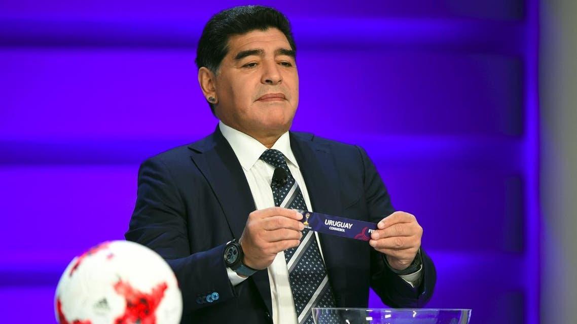Diego Maradona AFP