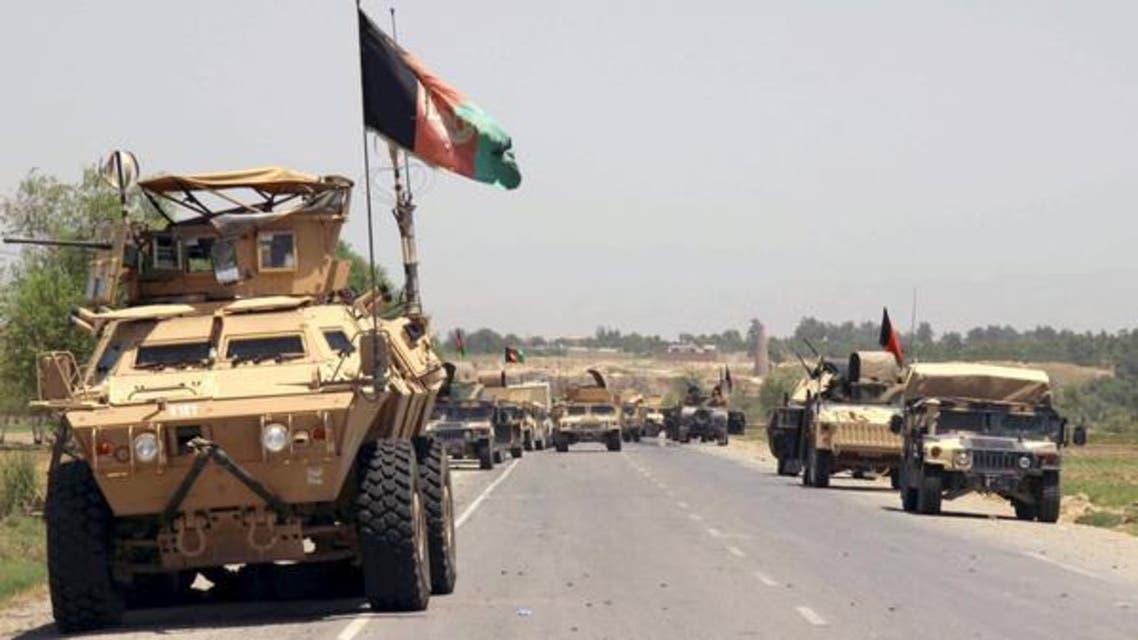 آليات للقوات الأفغانية