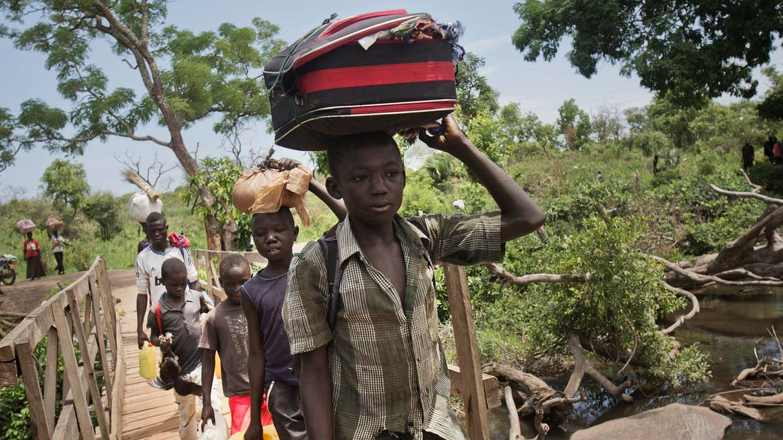The Associted press, south sudan refugees