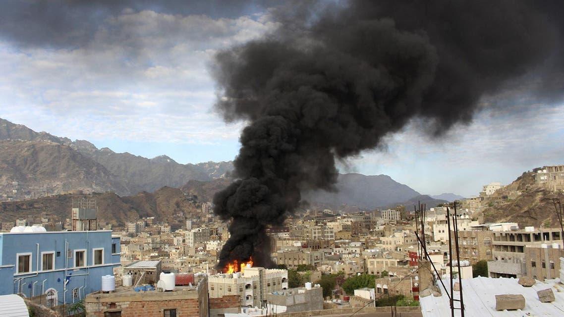 taiz yemen reuters