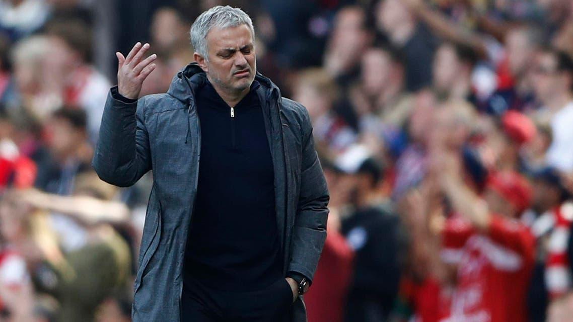 Jose Mourinho photo from reuters
