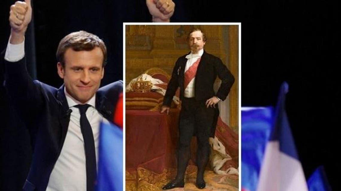 إيمانويل ماكرون سحب لقب أصغر رئيس من نابليون الثالث
