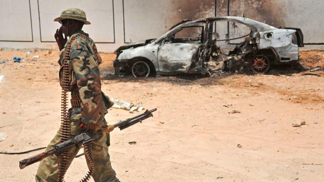 هجوم سابق في الصومال