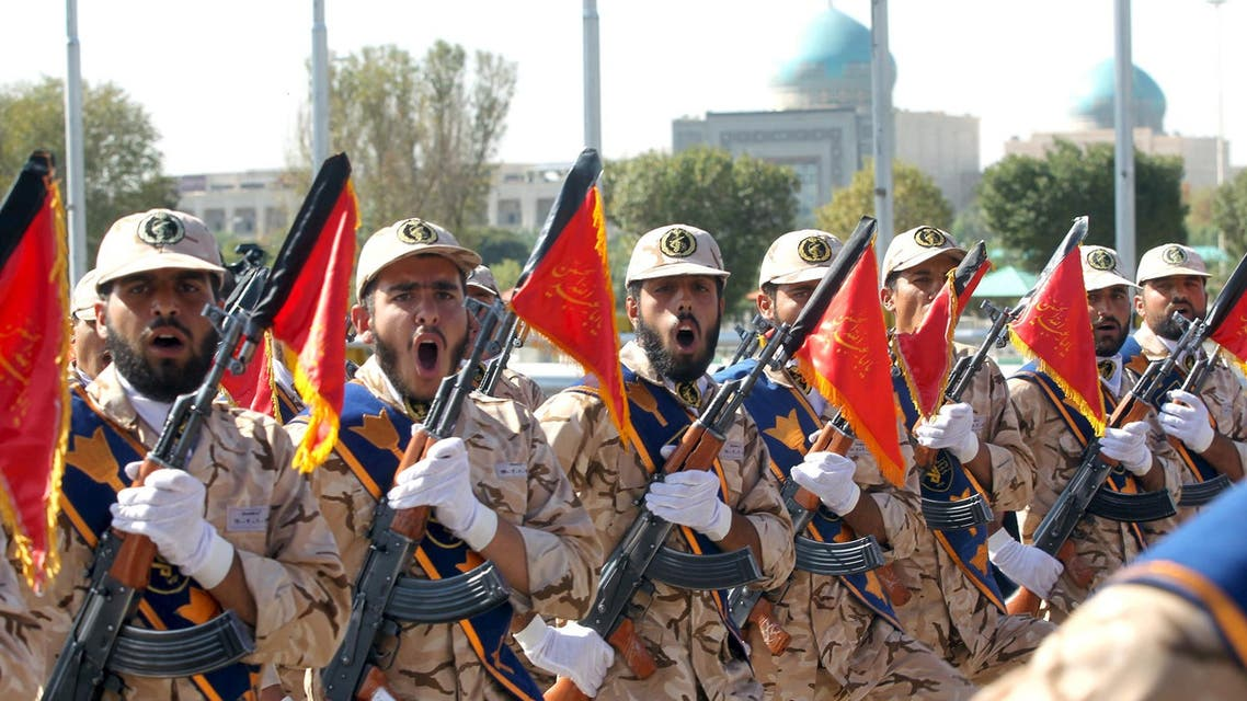 Members of the Iranian Army participate in a parade marking the anniversary of the Iran-Iraq war (1980-88), in Tehran September 22, 2015.