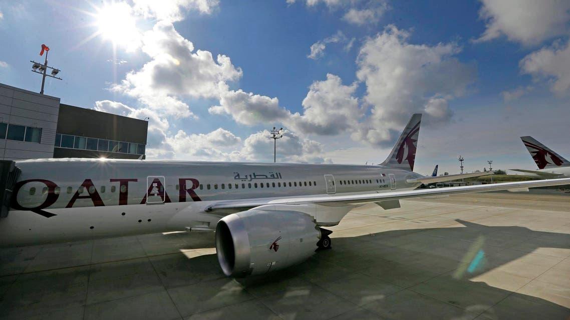 AP photo of qatar airways