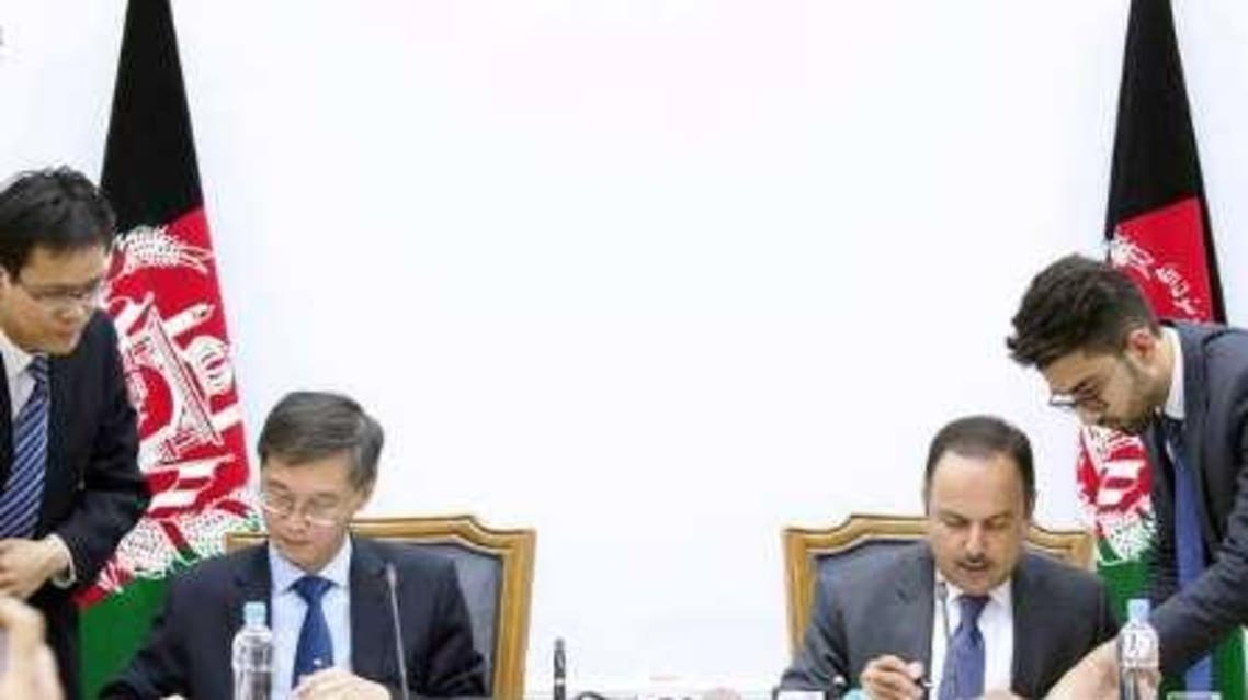 کمک 72 میلیون دالری چین به افغانستان