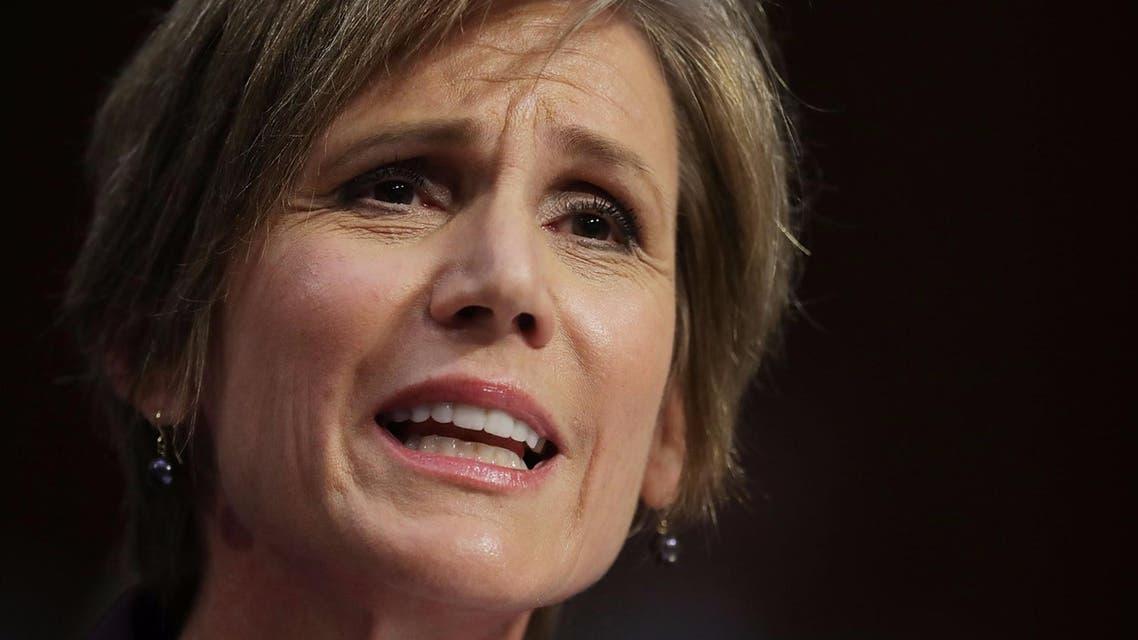 سالي ييتس، نائبة وزير العدل الأميركي السابقة