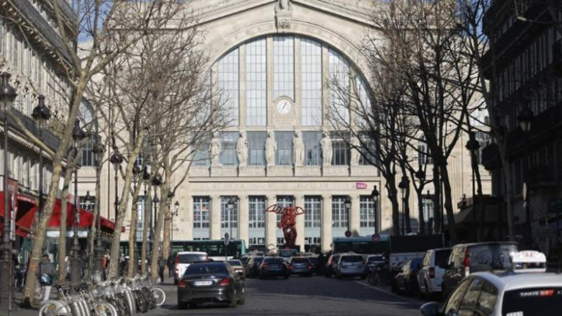 General view of the exterior of the Gare du Nord railway station in Paris, France, January 21, 2016. (Reuters)