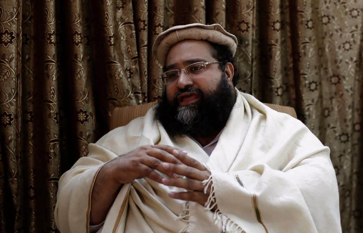 Tahir Ashrafi, head of the powerful Ulema Council of clerics, speaks during an interview with Reuters in Islamabad December 13, 2013. (Reuters)