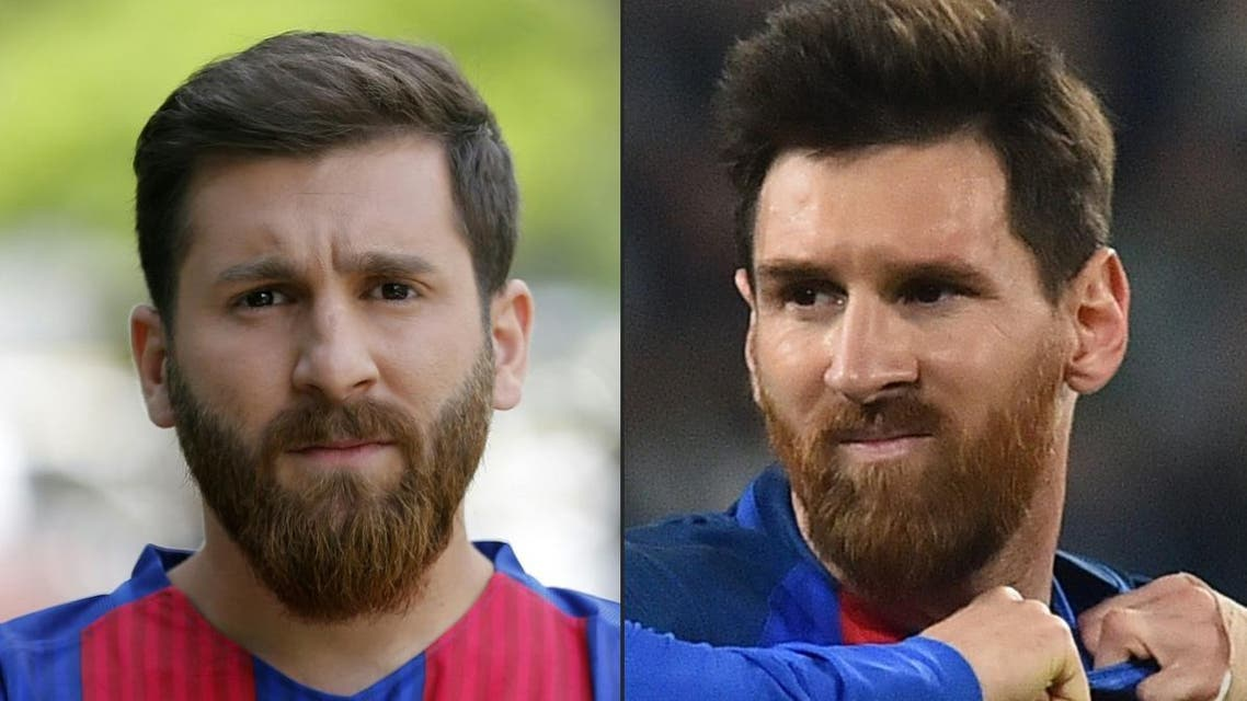 It appears that Parastesh was only booked for disrupting traffic in Hamedan after many showed up requesting to take selfies with the young Messi lookalike. (AFP)