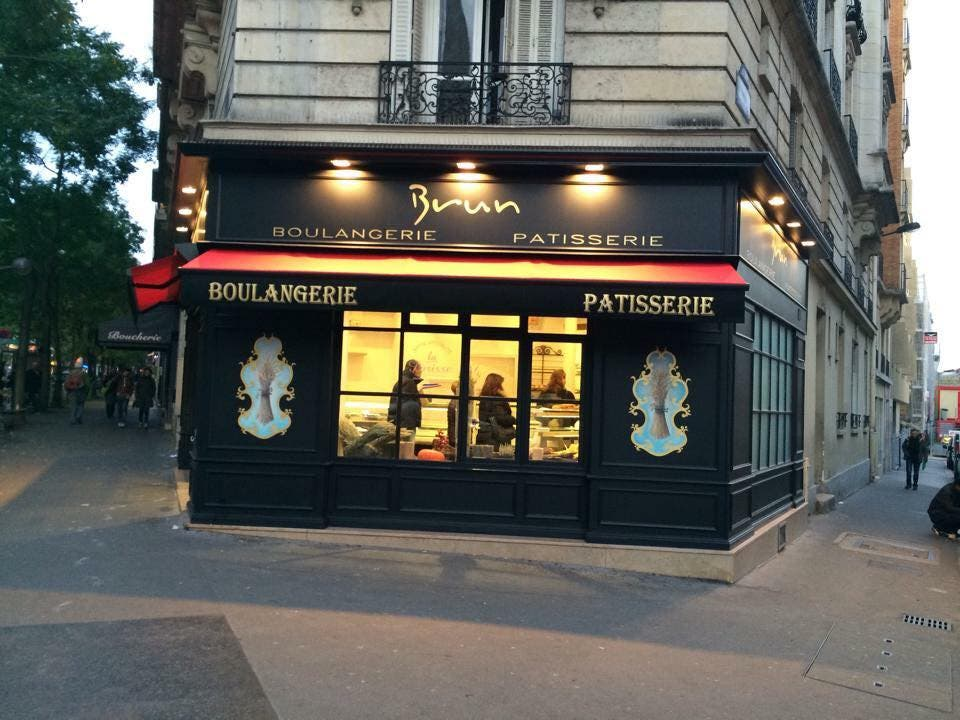 Sami Bouattour's bakery Paris' 13th arrondissement. (Supplied)
