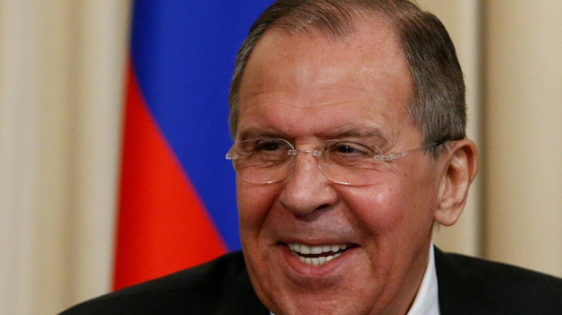 Russian Foreign Minister Sergei Lavrov smiles during a news conference with Frederica Mogherini, the European Union's Foreign Policy chief, following their meeting in Moscow, Russia, April 24, 2017. REUTERS