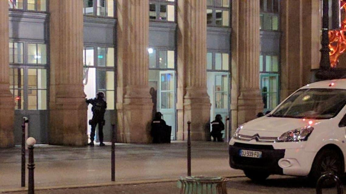 إخلاء محطة قطارات في باريس بسبب إنذار أمني