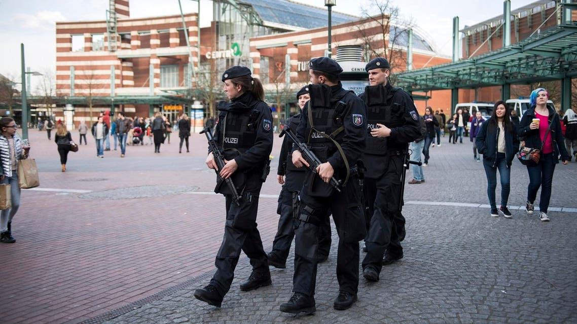 Police carried out anti-terrorism raids in four German states on Wednesday morning, targeting ISIS sympathizers. (AP)