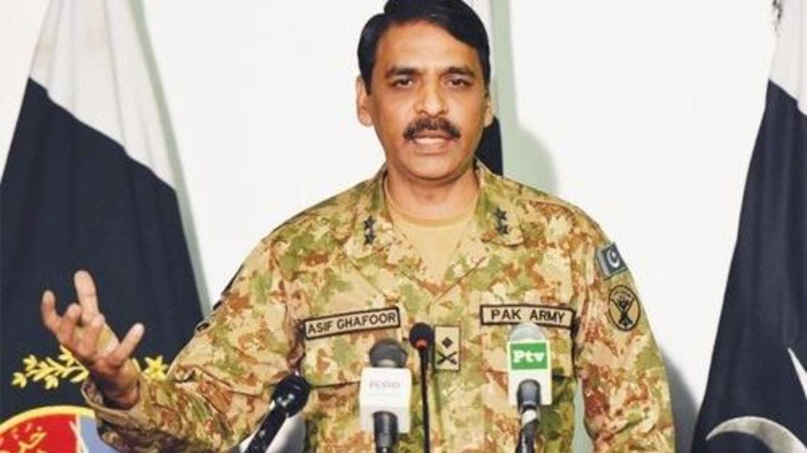 DG ISPR Major General Asif Ghafoor