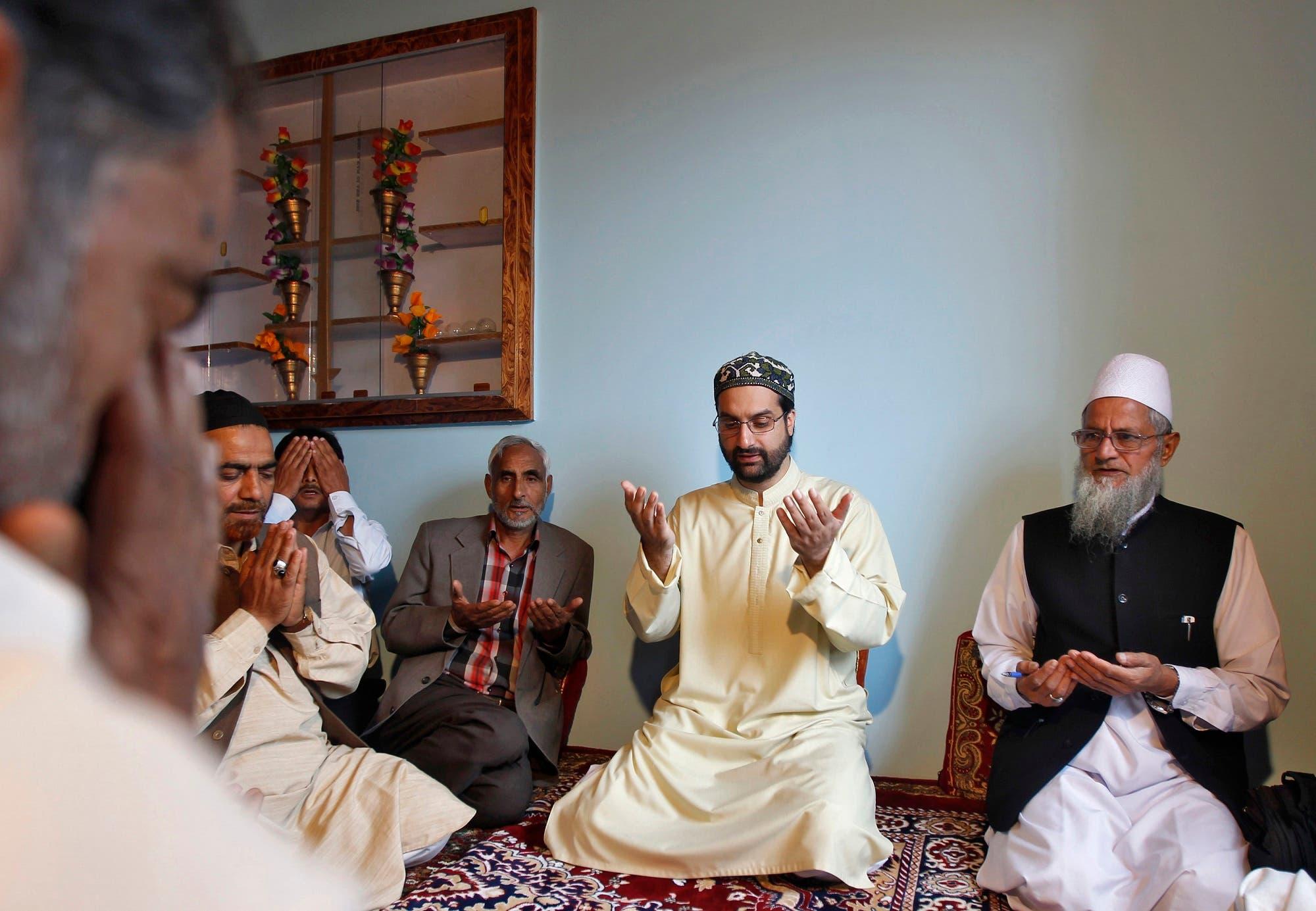 Mirwaiz Umar Farooq, leader of a moderate Kashmiri separatist faction. file photo Reuters