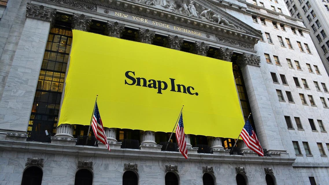 Sign at the New York Stock Exchange marking the Initial Public Offering of Snapchat's parent company, Snap Inc. in New York City. (File photo: Shutterstock)