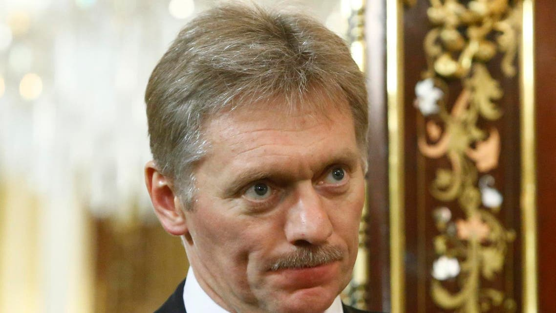 file photo from AFP for Kremlin spokesman Dmitry Peskov