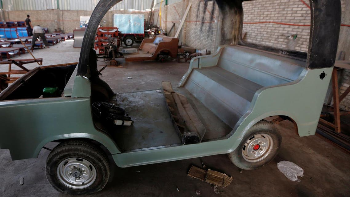 mini car made in egypt, reuters