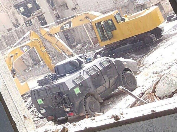 صور.. مقتل مطلوب في العوامية خلال تطوير حي المسورة