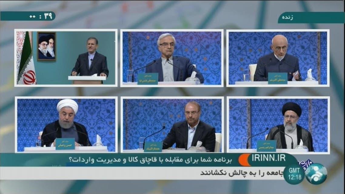 THUMBNAIL_ اتهامات متبادلة بالفساد والكذب بين مرشحي الرئاسية الإيرانية