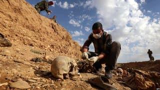 الأمم المتحدة: 200 مقبرة جماعية خلفها داعش في العراق