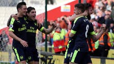 Arsenal maintain top-four hunt with impressive Stoke victory