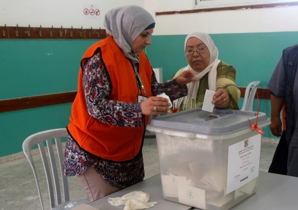 من انتخابات بلدية جرت في الضفة الغربية في 2017 (أرشيفية)