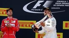 Hamilton wins Spanish GP ahead of Vettel