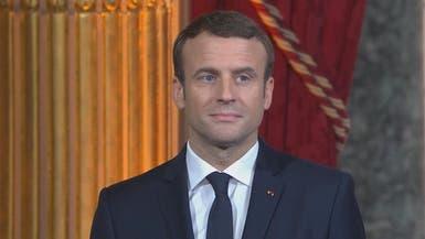 الرئيس الفرنسي يرحب بإعادة انتخاب روحاني