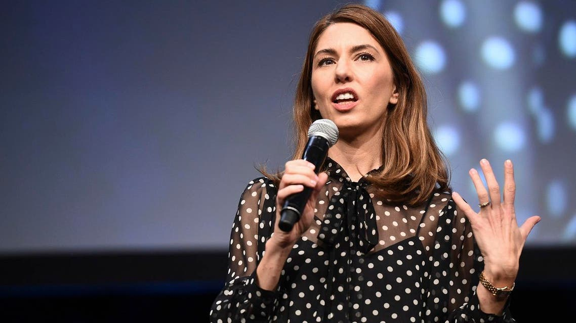 Sofia Coppola speaks during the Focus Features luncheon and studio program celebrating 15 years during CinemaCon at The Colosseum at Caesars Palace on Wednesday, March 29, 2017 in Las Vegas . (AP)
