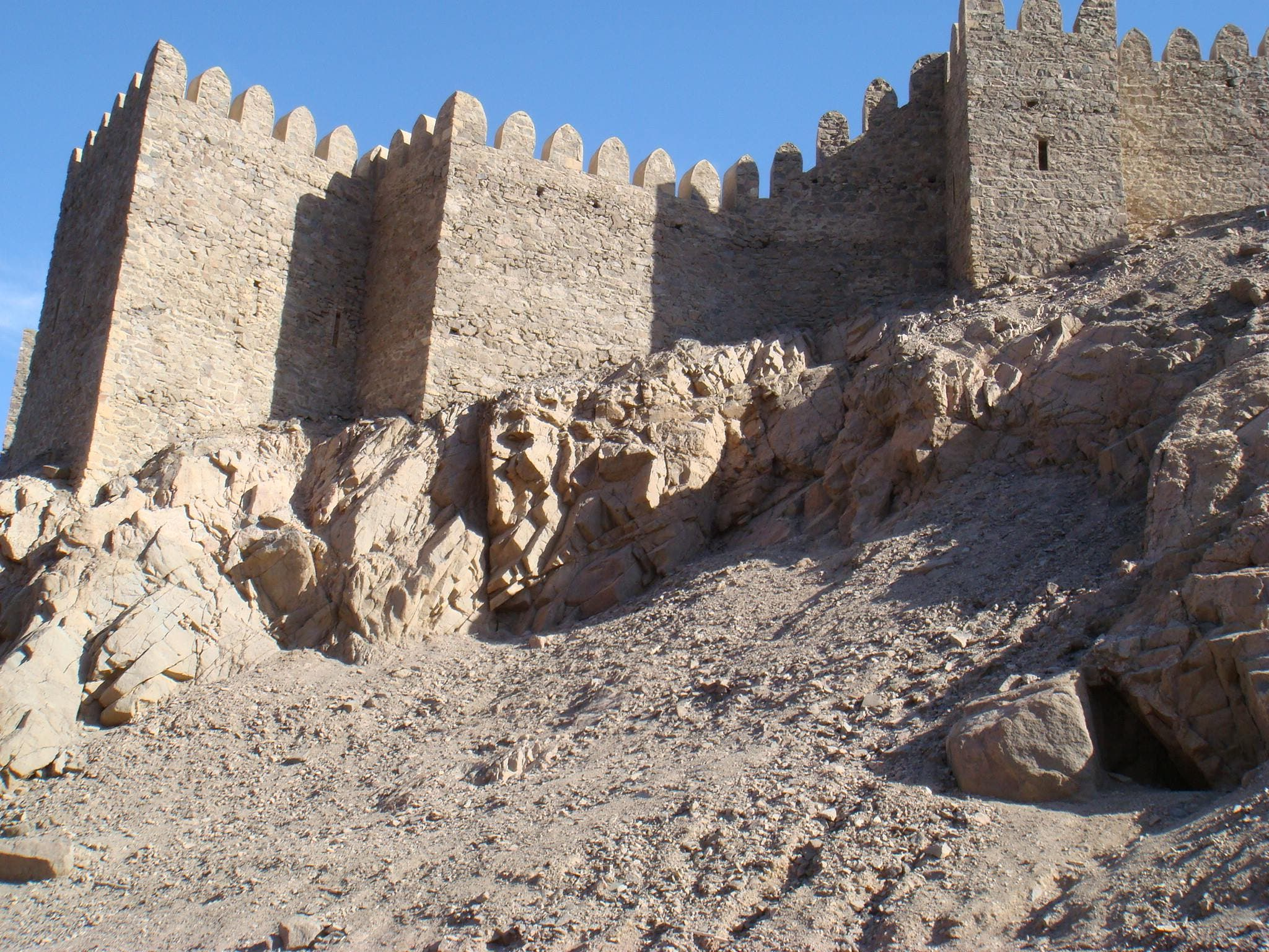 قلعة صلاح الدين الأيوبي في سيناء