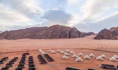 عش تجربة السكن على المريخ في الأردن