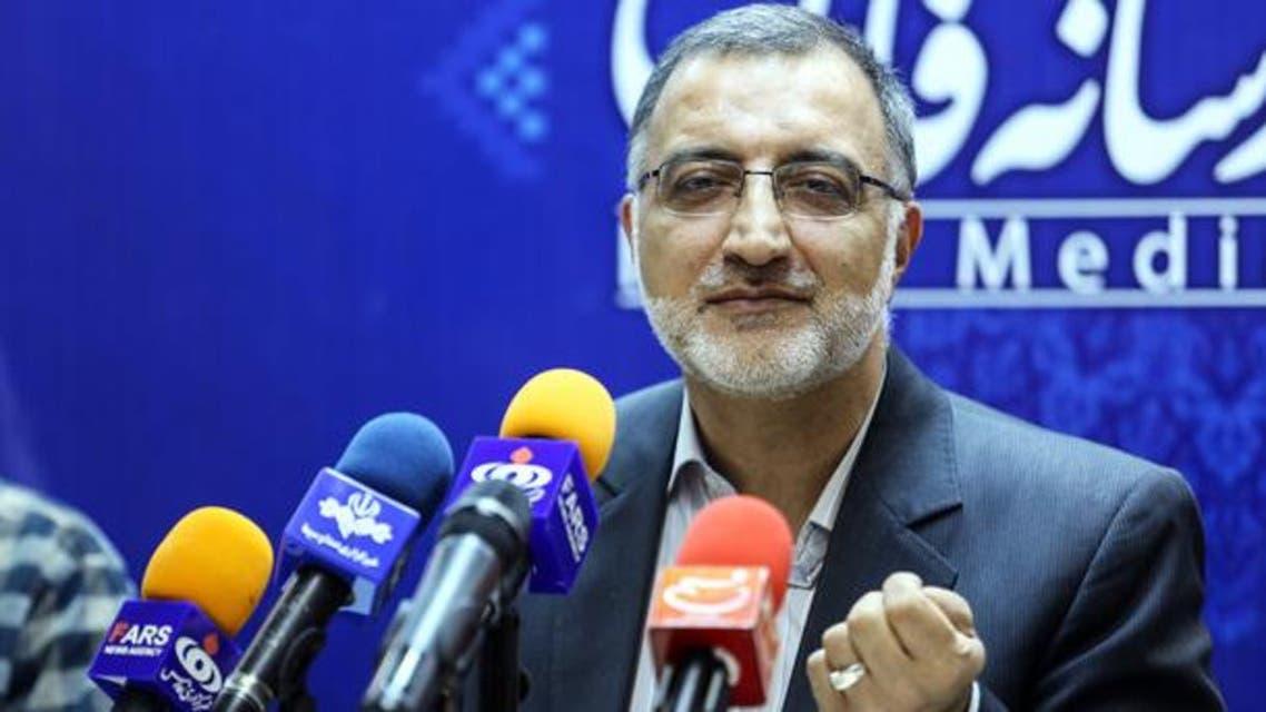 نائب إيراني سابق من المتشددين علي رضا زاكاني