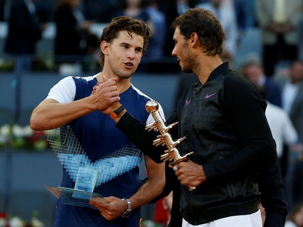 Rafael Nadal overpowers Dominic Thiem to win fifth Madrid title reuters