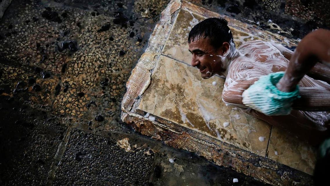 Iraq's Hamam Alil sulphur spa reopens in liberated town