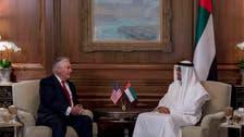 Abu Dhabi Crown Prince talks UAE-US cooperation in Tillerson meeting