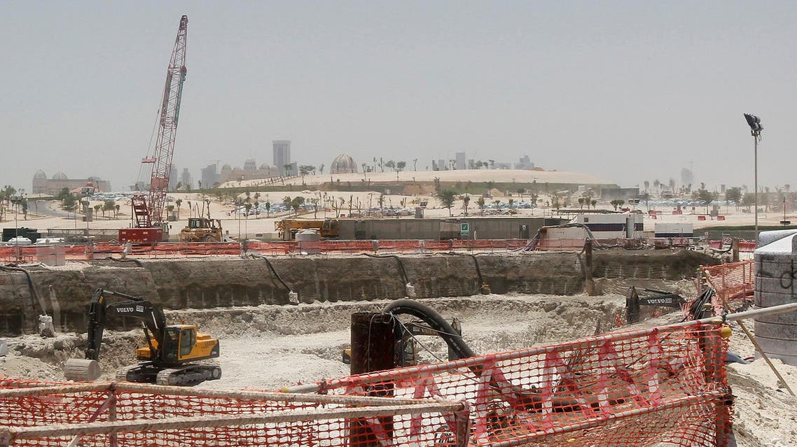 Bulldozers operate on a road under construction near Doha Towers June 25, 2013. (File Photo: Reuters)