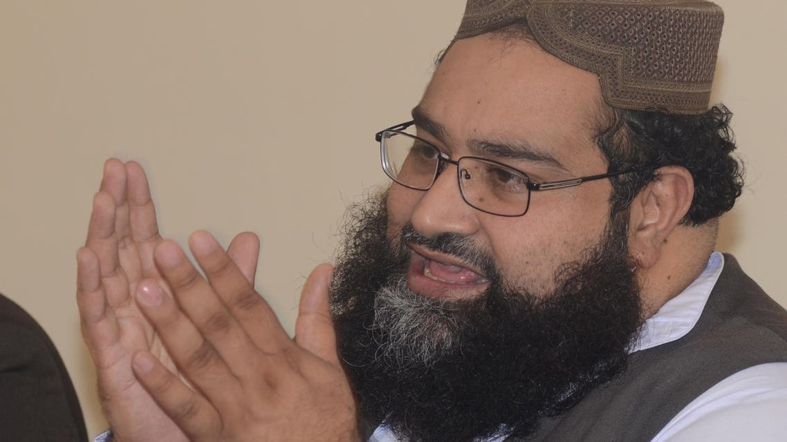 Pakistani cleric Hafiz Tahir Ashrafi, Chairman of Pakistan Scholar Council, said that the approval of bail for the Christian girl facing blasphemy charges is a victory for justice in Pakistan while addressing a news conference in Islamabad, Pakistan on Friday, Sept. 7, 2012. (AP0