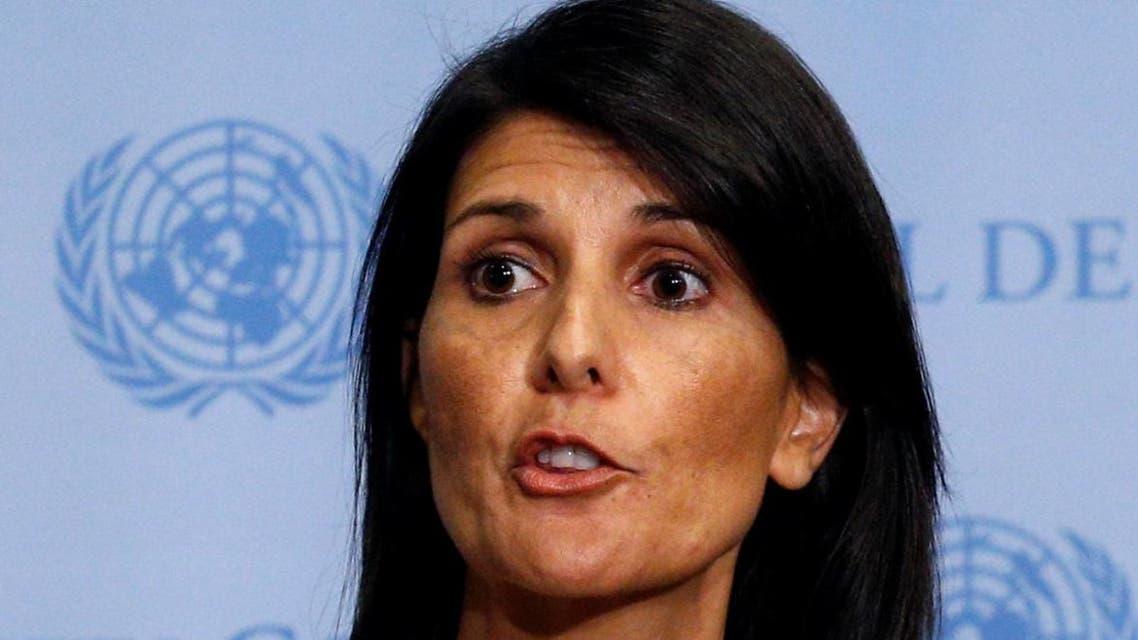 السفيرة الأميركية لدى #الأمم_المتحدة، نيكي هالي