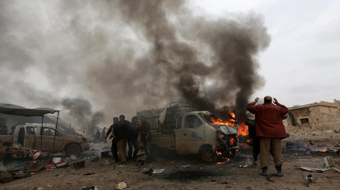 file photo of car bomb from reuters